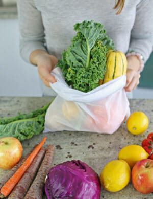 reusable mesh bags for produce