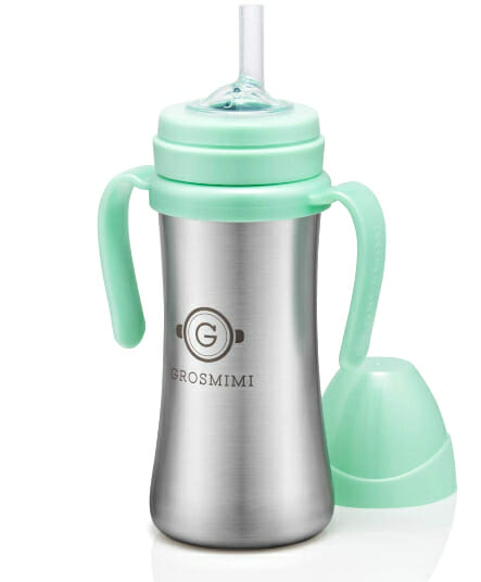 Insulated No-Spill Sippy Cup with Handles