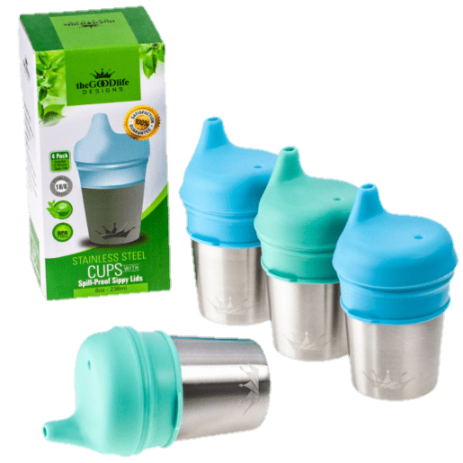 steel sippy cups