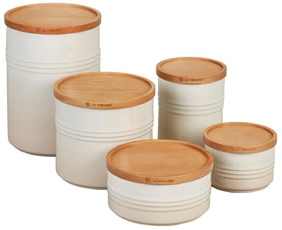 le creuset canister set