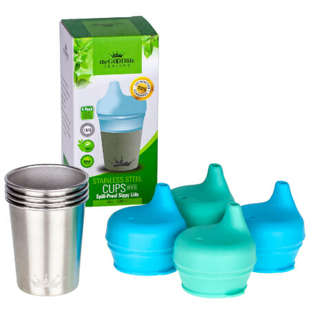 stainless steel sippy cups for kids