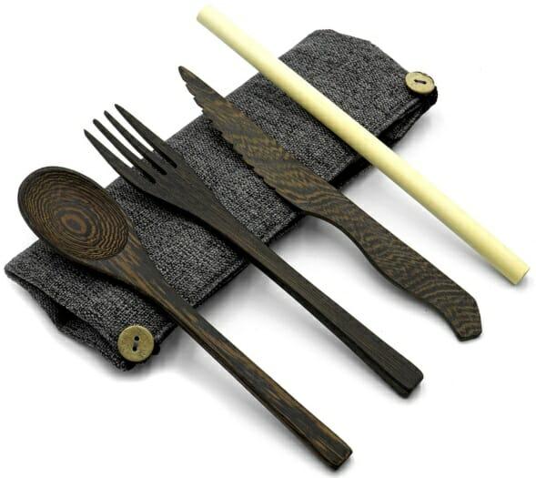 Handmade-Wood-Travel-Utensil-Set