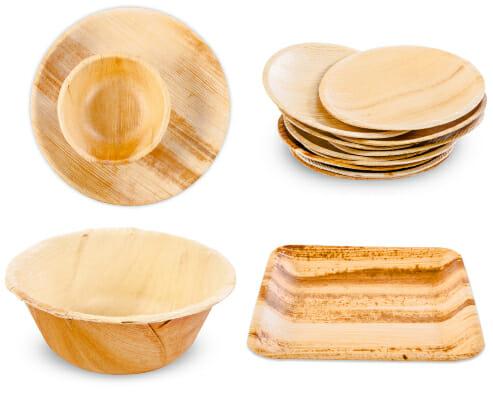 palm leaf plates bulk