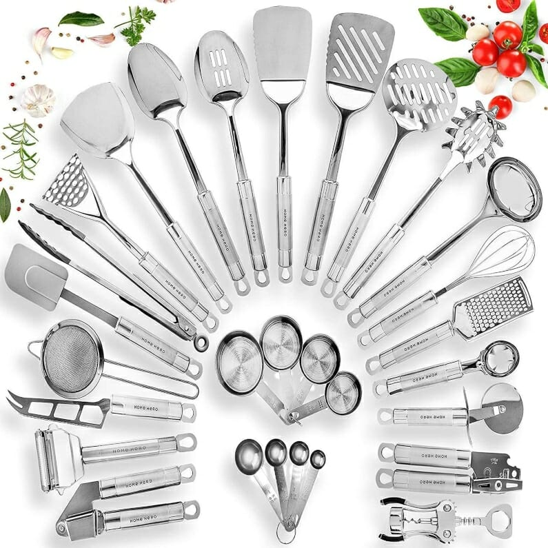 Best Stainless Steel cooking utensils set