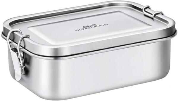 Homefavor-Leak-proof-Metal-Bento-Box