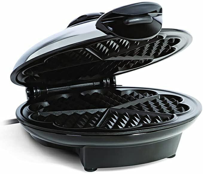 Euro-Cuisine-WM520-Heart-Shaped-Non-Toxic-Waffle-Maker