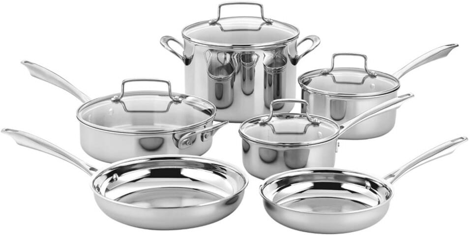 Non-Toxic Stainless Steel Cookware