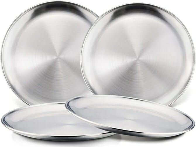 Stainless-Steel-Kids-Plates