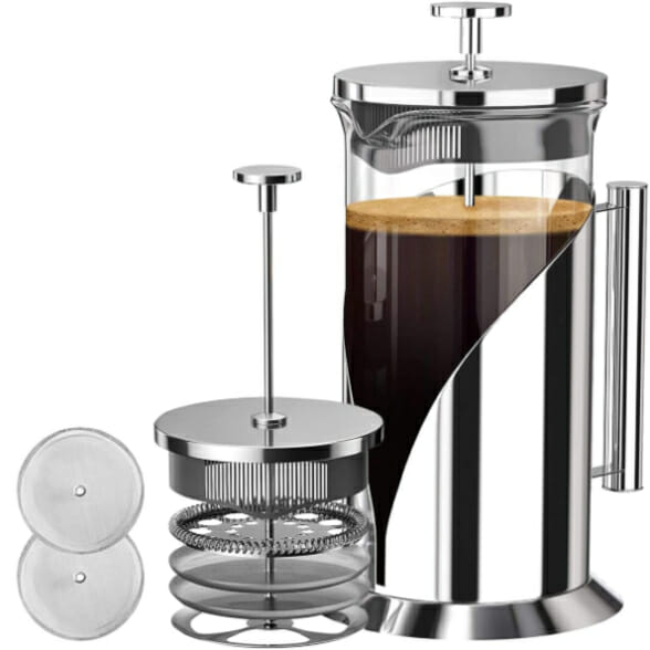 Plastic-Free-French-Press-Coffee-Maker
