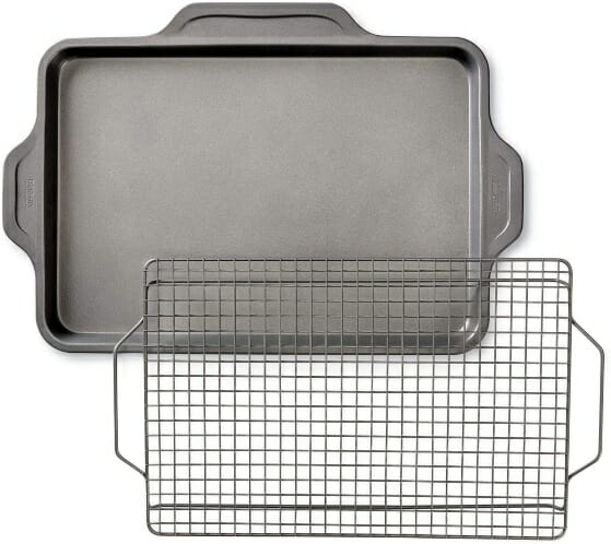 All-Clad-Non-Toxic-Cookie-Sheet-with-Rack