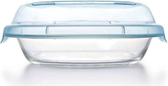 "OXO-Good-Grips-9""-Glass-Pie-Plate-with-Lid"