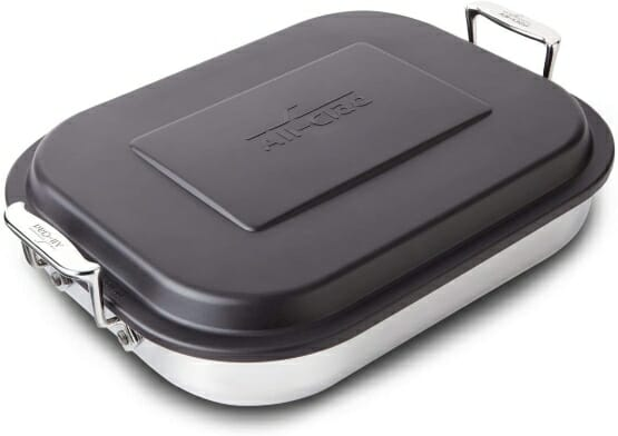 Stainless-Steel-All-Clad-Lasagna-Pan-with-Lid