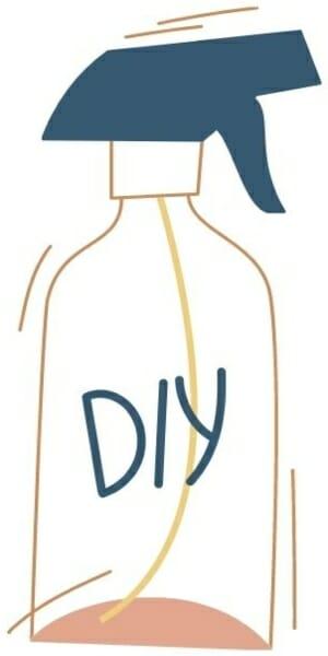 diy-cleaner bottle