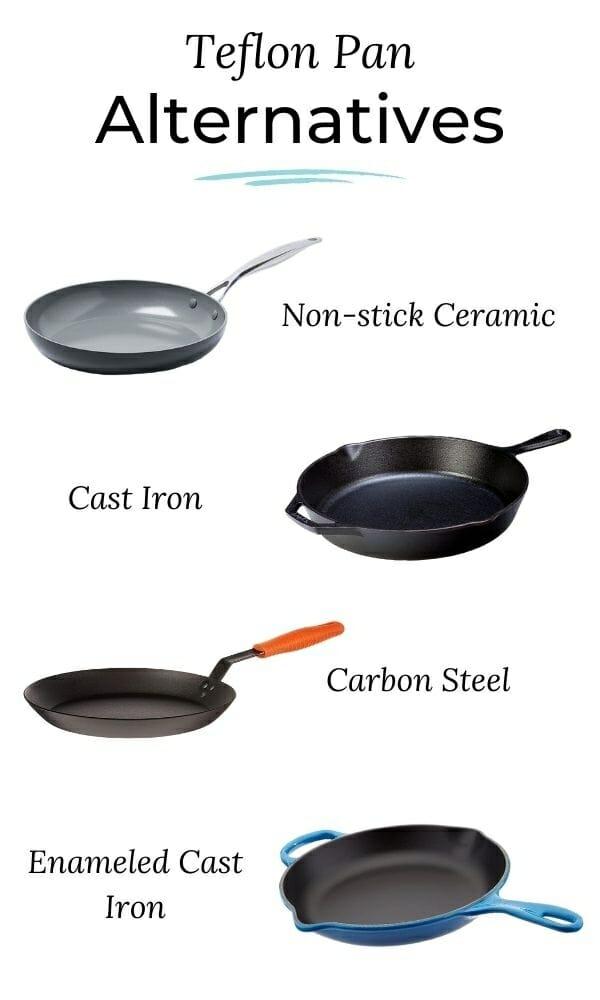 Types-of-Non-Stick-Pans-with-No-Teflon